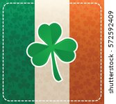 saint patrick's day design.... | Shutterstock .eps vector #572592409