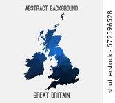 united kingdom uk great britain ... | Shutterstock .eps vector #572596528