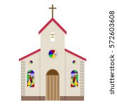 church  church of icon  temple  ... | Shutterstock .eps vector #572603608