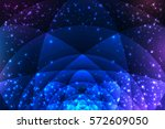 sacred geometry symbols and... | Shutterstock .eps vector #572609050