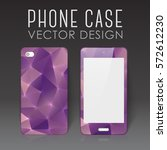 case for mobile phone with... | Shutterstock .eps vector #572612230