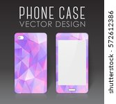 case for mobile phone with... | Shutterstock .eps vector #572612386