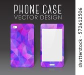 case for mobile phone with... | Shutterstock .eps vector #572612506