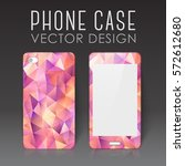 case for mobile phone with... | Shutterstock .eps vector #572612680