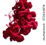 red ink in water | Shutterstock . vector #572614876