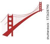 modern bridge logo design...   Shutterstock .eps vector #572628790