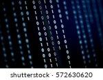 Digital Binary Data On Compute...