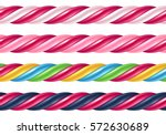 Twisted Candy Cane Colorful...