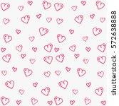 valentines day background... | Shutterstock .eps vector #572638888