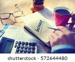 success growth development... | Shutterstock . vector #572644480