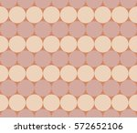 seamless strips of circles.... | Shutterstock .eps vector #572652106