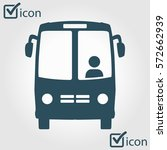 bus icon.  | Shutterstock .eps vector #572662939