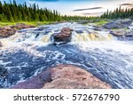 Forest River Rapids Landscape