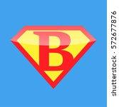 logo super hero | Shutterstock .eps vector #572677876