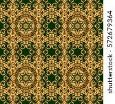 luxury ornament for wallpaper ... | Shutterstock .eps vector #572679364