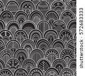 vector seamless pattern with... | Shutterstock .eps vector #572683333