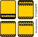 warning  sign  vector | Shutterstock .eps vector #572684899
