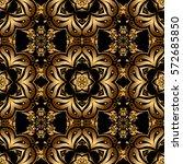 ornament design template.... | Shutterstock .eps vector #572685850