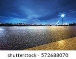 nigh scene of seoul from empty... | Shutterstock . vector #572688070