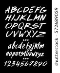 graphic font for your design.... | Shutterstock .eps vector #572689039