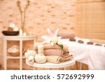 massage setting in modern... | Shutterstock . vector #572692999
