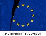 torn and grunge flag of...   Shutterstock . vector #572695804
