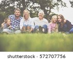 family generations parenting... | Shutterstock . vector #572707756