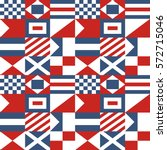 nautical seamless pattern... | Shutterstock .eps vector #572715046