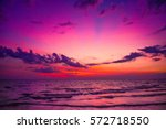 nature in twilight period ... | Shutterstock . vector #572718550