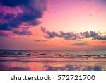 nature in twilight period ... | Shutterstock . vector #572721700
