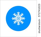 snowflake icon | Shutterstock .eps vector #572741023
