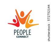 vector logo people | Shutterstock .eps vector #572752144