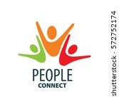 vector logo people | Shutterstock .eps vector #572752174