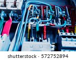 electrical equipment.... | Shutterstock . vector #572752894