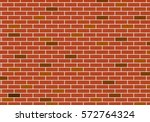Red Brick Wall Pattern Texture...