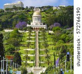 View Of Bahai Gardens And The...
