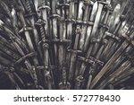Metal Knight Swords Background...
