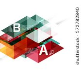 transparent overlapping... | Shutterstock .eps vector #572782840
