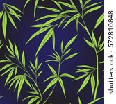 seamless pattern with bamboo...   Shutterstock .eps vector #572810848