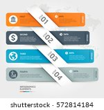 business infographics elements... | Shutterstock .eps vector #572814184