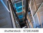 elevator | Shutterstock . vector #572814688