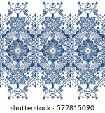 embroidered good like old... | Shutterstock .eps vector #572815090