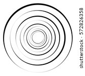 concentric circles  rings.... | Shutterstock .eps vector #572826358