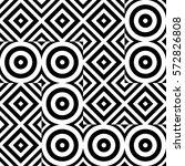 vector seamless pattern.... | Shutterstock .eps vector #572826808