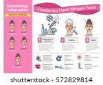 vector illustrated set with... | Shutterstock .eps vector #572829814