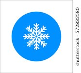 snowflake icon   Shutterstock .eps vector #572832580