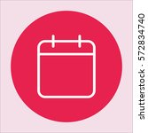 calender date schedule plan... | Shutterstock .eps vector #572834740