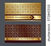 two design template for premium ... | Shutterstock .eps vector #572842510