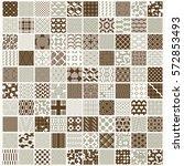 graphic ornamental tiles...   Shutterstock .eps vector #572853493