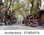 hanoi vietnam february 3 2017...   Shutterstock . vector #572856976